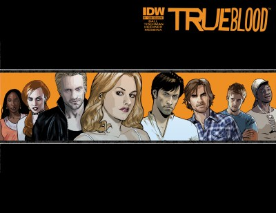 [True Blood #1 exclusive SDCC cover by  David Messina