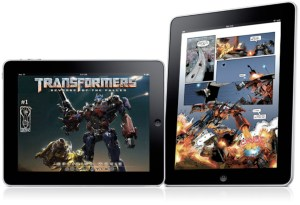 [TRANSFORMERS on the iPad]