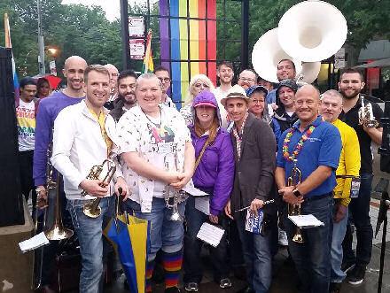 Lakeside Pride Band