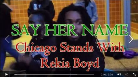 SAY HER NAME: Chicago Stands With Rekia Boyd