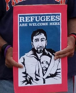 Refugees are welcome here!
