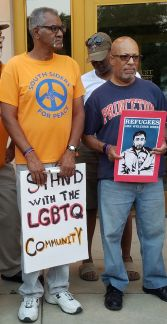 We stand with the LGBT community
