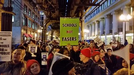 Schools, Not Tasers