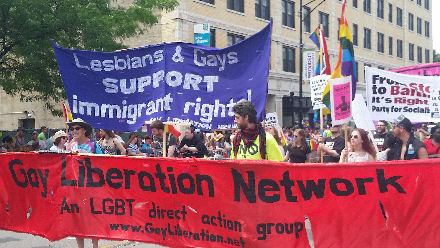 Lesbians & Gays Support Immigrant Rights