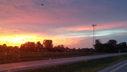 Dawn over Ohio