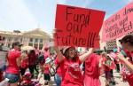 US teacher protest