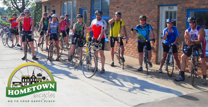 Hometown Cycling - Our 2012 team