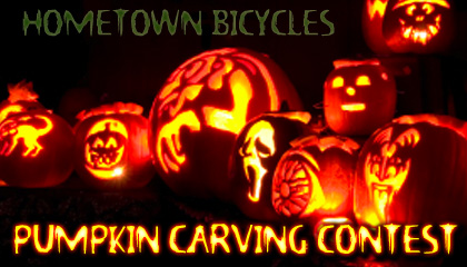 Hometown Bicycles Pumpkin Carving Contest