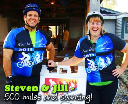 Steven & Jill Gautherat - 500 Mile Challengees