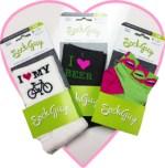 Sock Guy bike socks for Valentine's Day