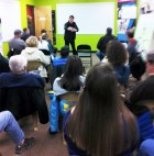 "Hometown Bicycles ""Why Jamis?"" clinic had a record attendance!"
