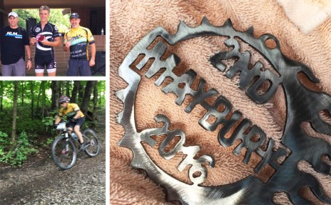 Team Hometown Bicycles' Mike Dyer takes second at Maybury Time Trials