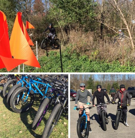 Fat bike demo at Hometown Bicycles' Fall Extravaganza