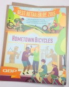 Hometown Bicycles - Best Retailer of 2015 from QBP