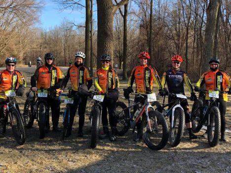 Team Hometown Bicycles at Waterloo Grit and Gravel Road Race