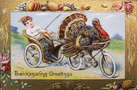 Happy Thanksgiving from Hometown Bicycles