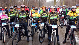 Team Hometown Bicycles at Waterloo G&G Gravel Road Race