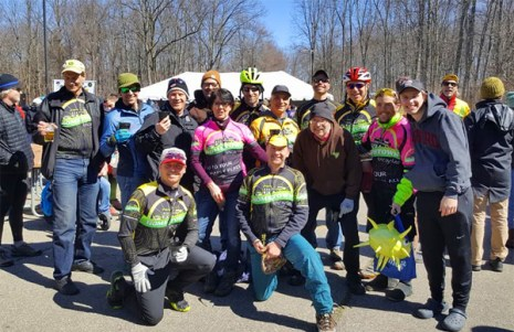 Team Hometown Bicycles at Waterloo G&G Gravel Race