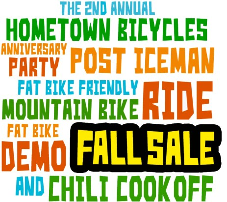 Hometown Bicycles 2nd Annual Novemberfest logo