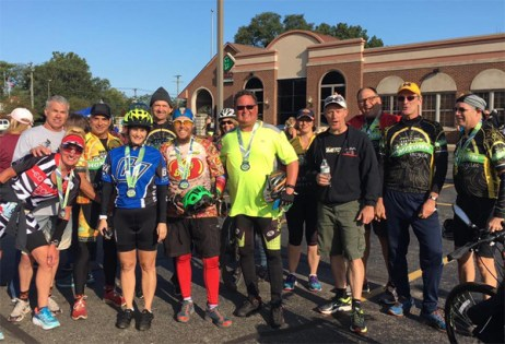 Team Hometown Bicycles and Hometownies at the 2017 Milford Labor Day 30K