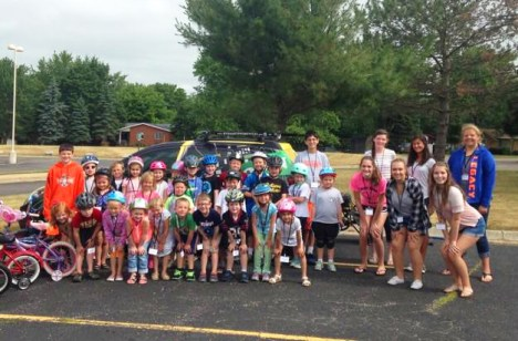 Brighton Safety Town at Hilton Elementary with Hometown Bicycles