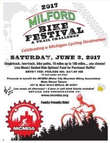 Milford Bike Festival flier