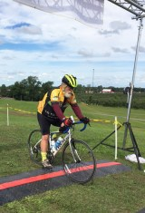 Team Hometown Bicycles' Jim Staples at Milford Labor Day 30K