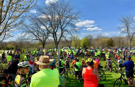 Over 550 riders and walkers participated in the inaugural Do It for Dan Memorial Ride