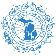 League of Michigan Bicyclists logo