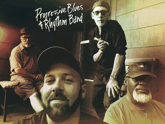 "Progressive Blues and Rhythm Band with Hometown Bicycles' Dan ""Shoecat"" Tribble"