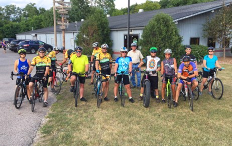 Hometown Bicycles Beginner Road Ride group ride