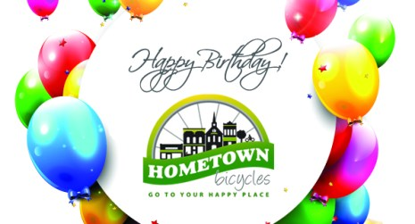 Happy 6th Birthday, Hometown Bicycles!