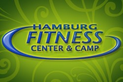 Hamburg Fitness Center website logo