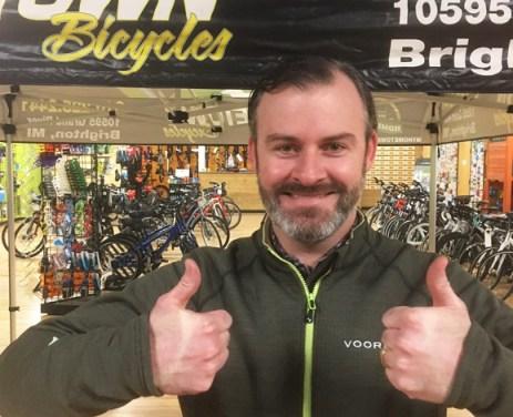 Team Hometown Bicycles Sponsor Sean Lowry of Lowry Solutions