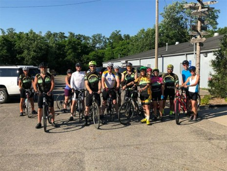 Hometown Bicycles beginner road ride shop ride with Team Hometown Bicycles