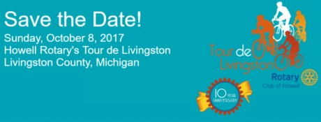 Howell Rotary's Tour de Livingston Save the Date
