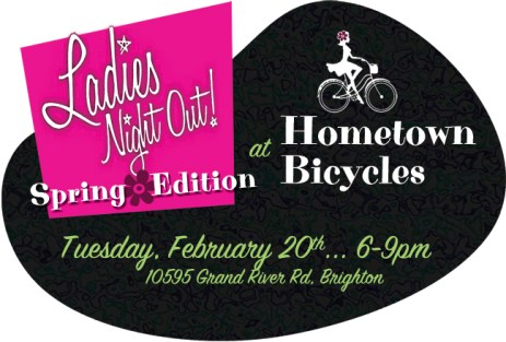 Ladies Night Out at Hometown Bicycles - Spring Edition