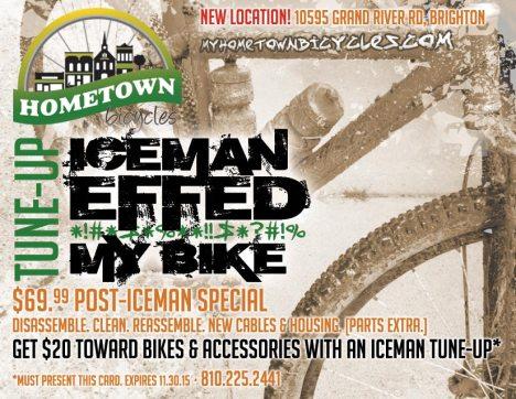 Iceman Effed My Bike Tune-Up
