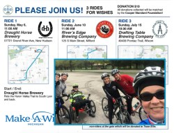 Make a Wish rides for Team Ellie