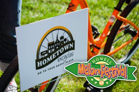 Hometown Bicycles at Melon Festival in Howell, Michigan