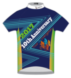 Tour de Livingston 2017 10th Anniversary jersey