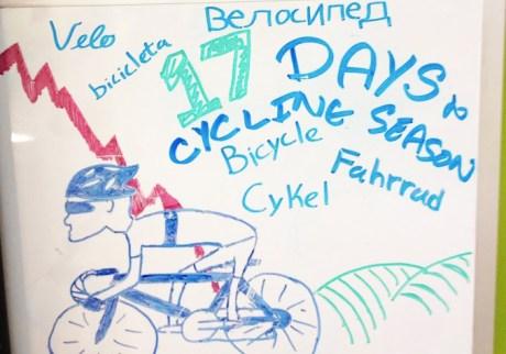 Hometown Bicycles' countdown to cycling season