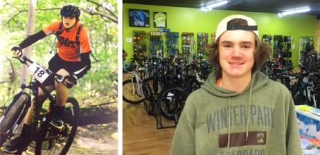 Hometown Bicycles Service Tech and Brighton Bulldog Cycling Team Rider Joe Shafer