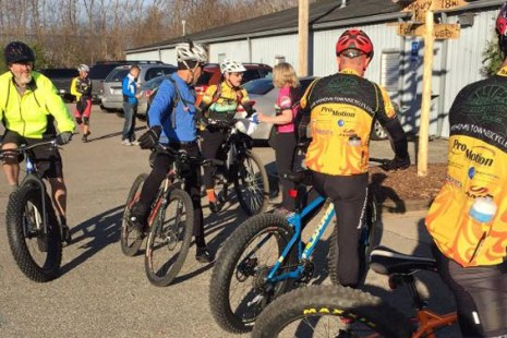 Fat Bike Friendly shop ride at Hometown Bicycles
