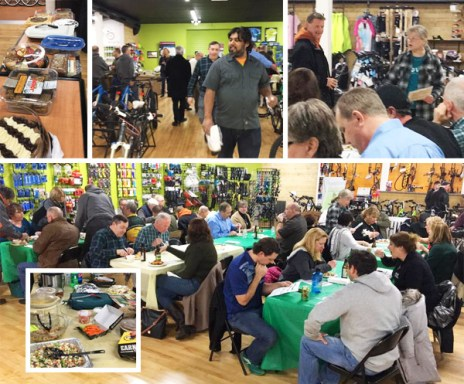 Hometown Bicycles Winter Clinic Series Wrap-Up Potluck Party