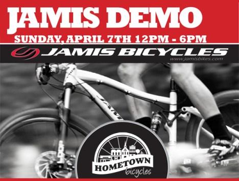 Hometown Bicycles: Jamis Demo 2013 on April 7