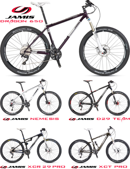 Jamis Demo Mountain Bikes