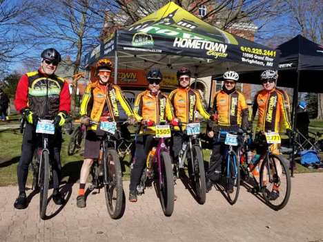 Team Hometown Bicycles at Barry Roubaix