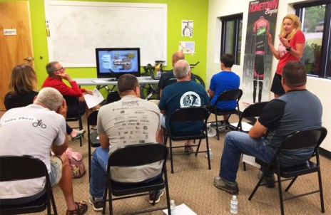 Hometown Bicycle's Amy Gluck talks about Metabolic Efficiency Training