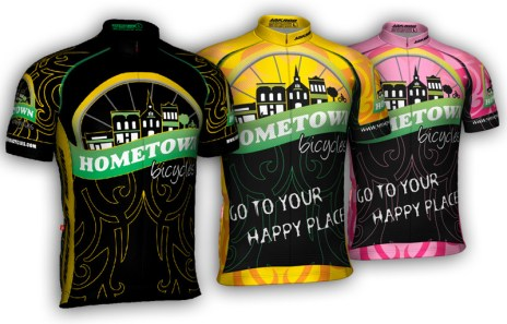 Hometown Bicycles 2017 jerseys / kits